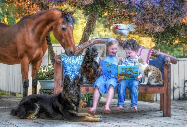 familia e seus animais 10
