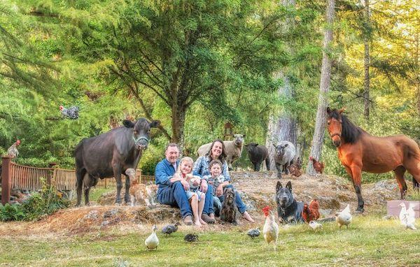 familia e seus animais 16