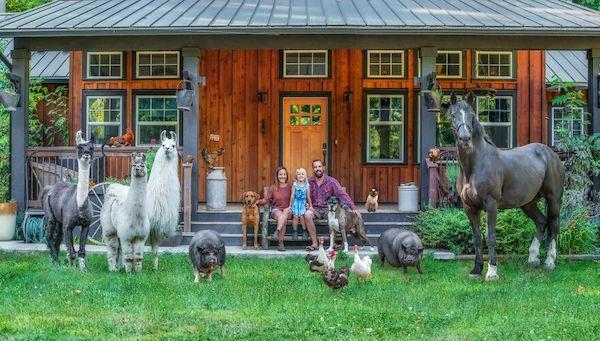 familia e seus animais 17