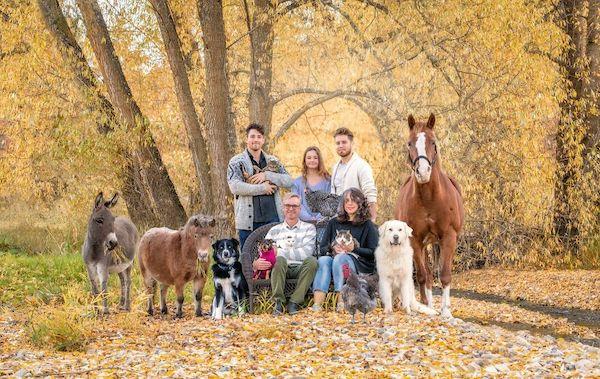 familia e seus animais 21