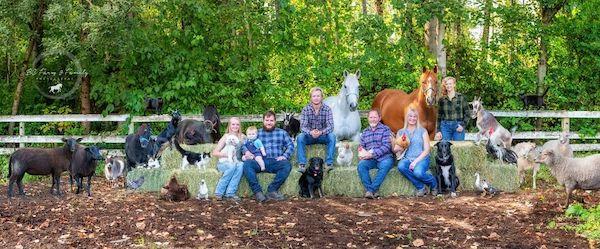 familia e seus animais 30