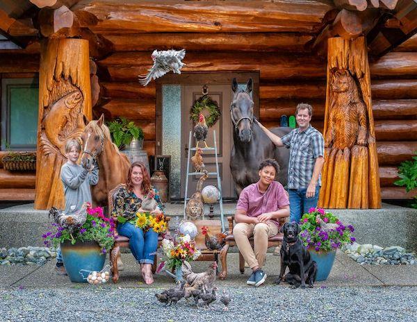 familia e seus animais 8