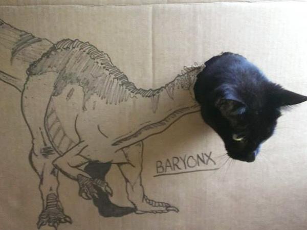 gatos dinossauros 10