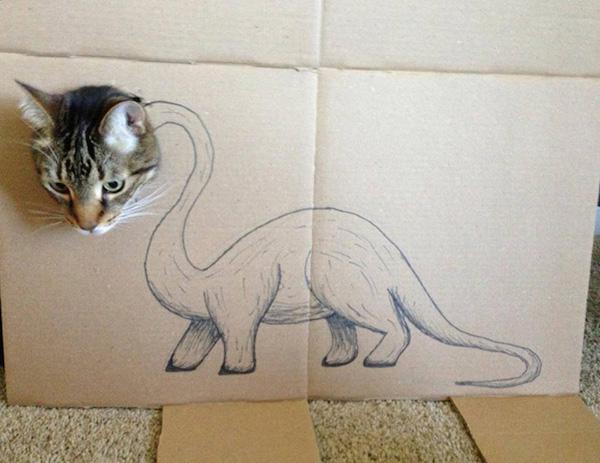 gatos dinossauros 12