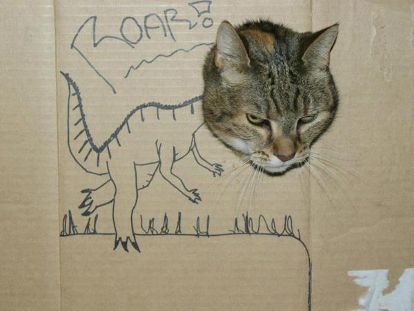 gatos dinossauros 13