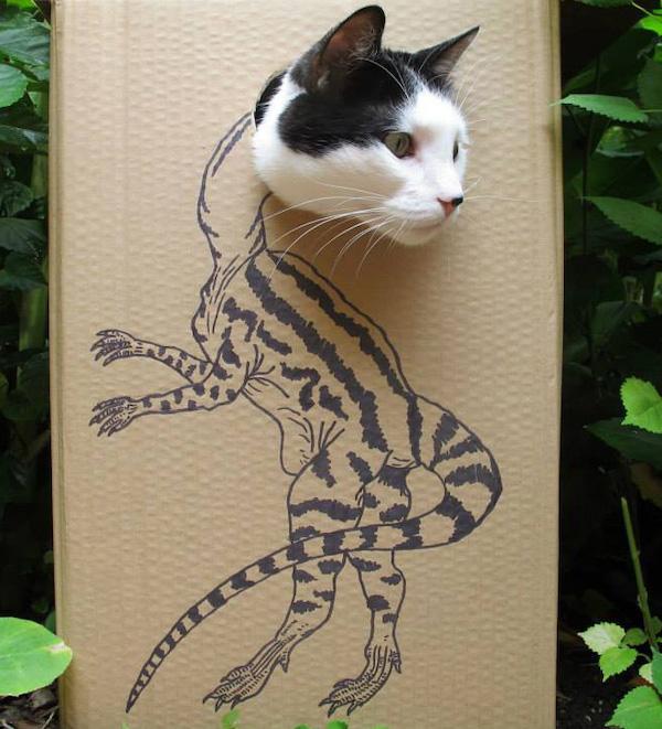 gatos dinossauros 6