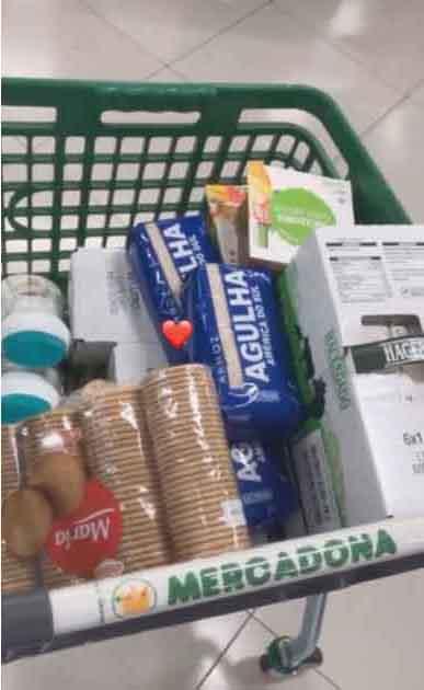 carrinho supermercado compras