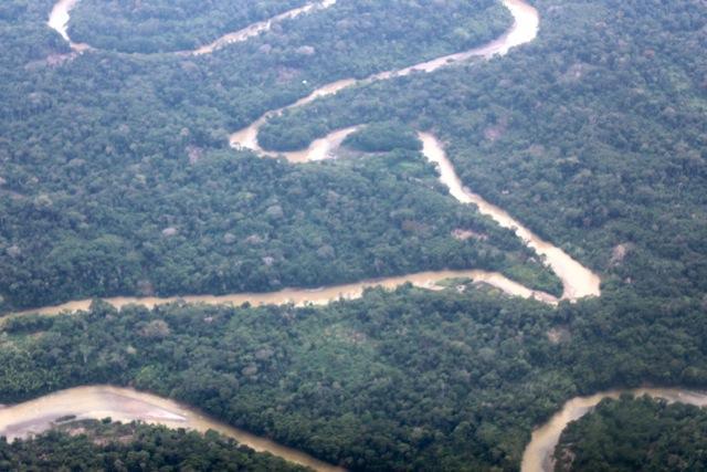 rio e floresta amazônia equatoriana