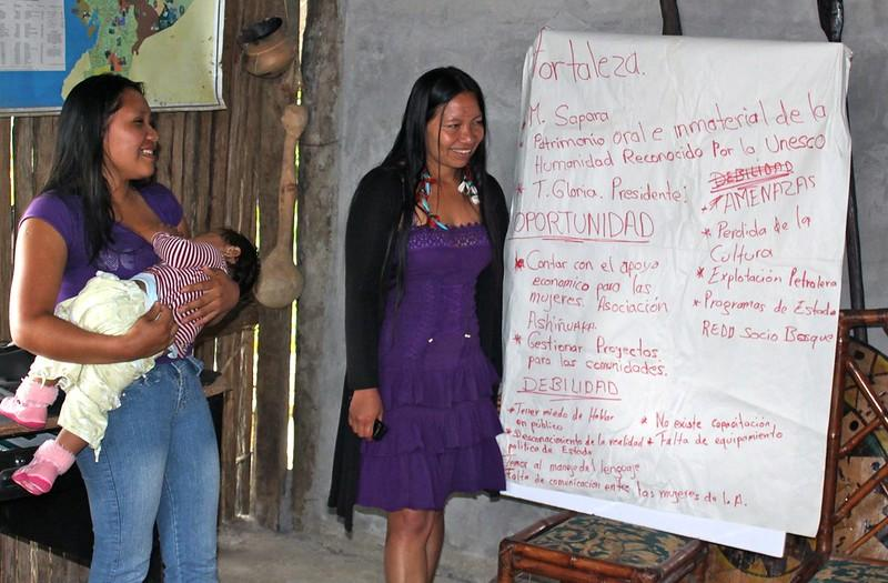 mulheres indígenas seminário formação