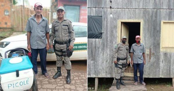 vendedor de picolé e policial
