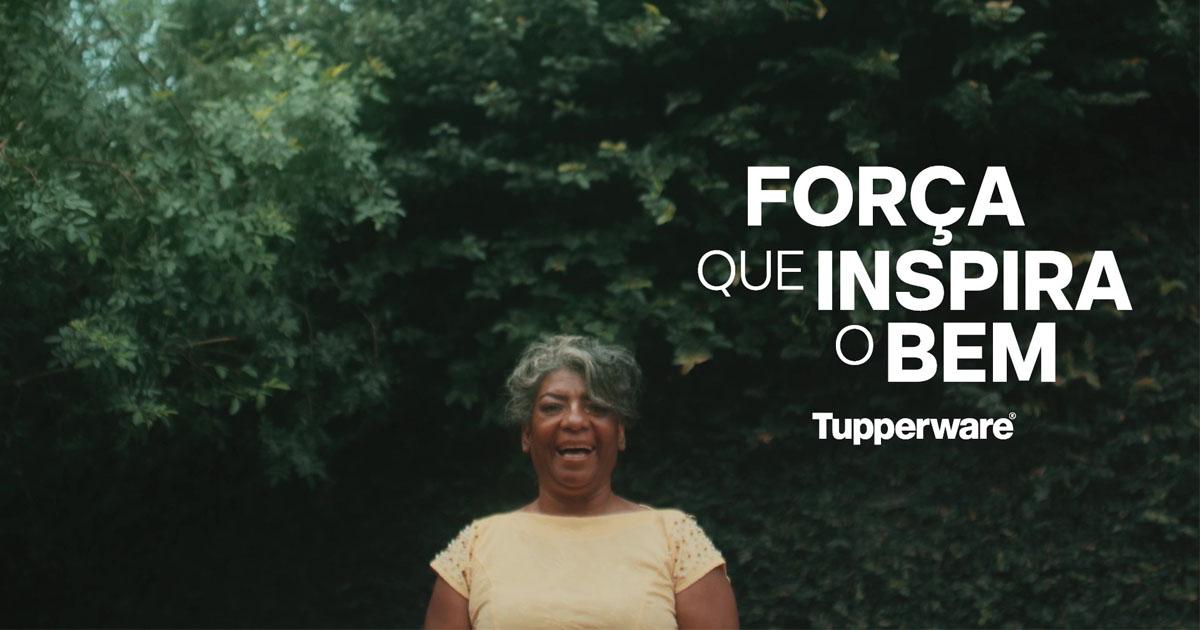líder tupperware sorrindo campanha força que inspira o bem