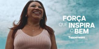 mulher empresária tupperware sorrindo campanha força que inspira o bem