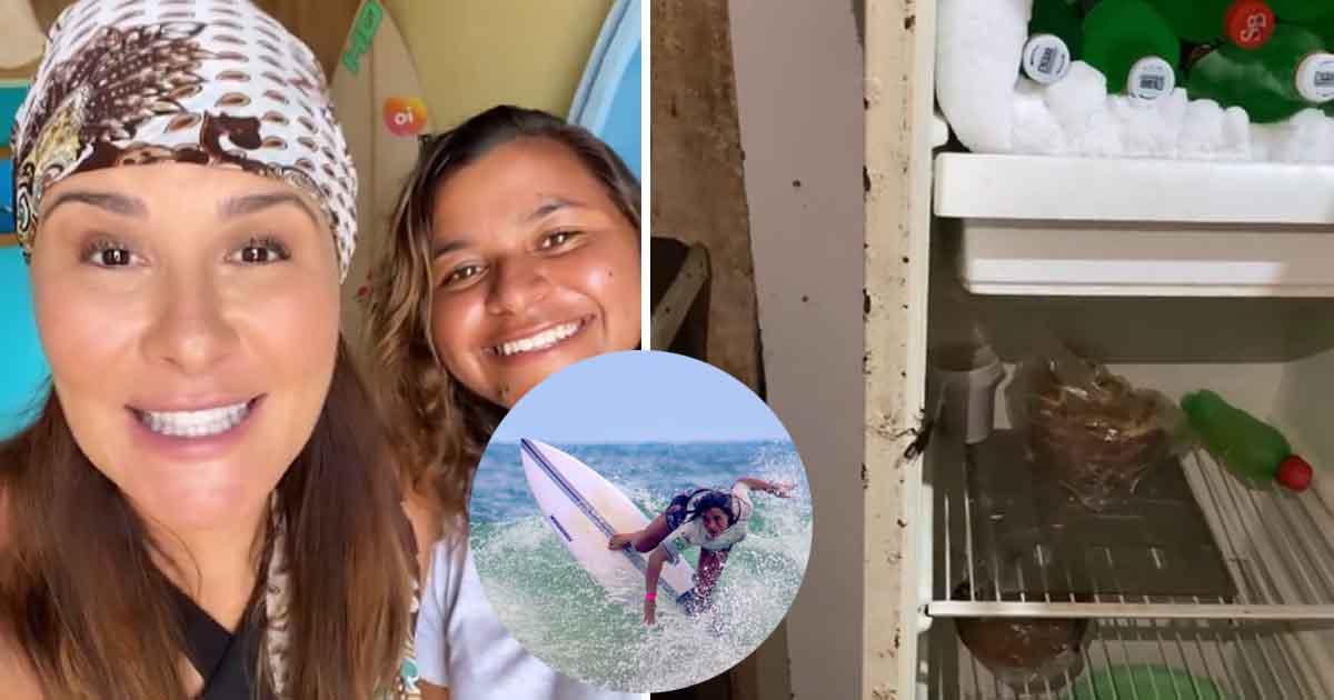 Jornalista cria vaquinha e transforma a vida de Juju, surfista TOP-10 que vive em pobreza extrema 4