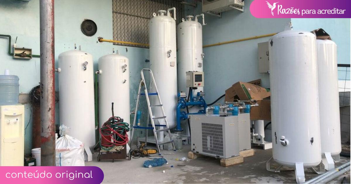 Com vaquinha da VOAA, usina de oxigênio é instalada em Manaus e atenderá pacientes por anos 6