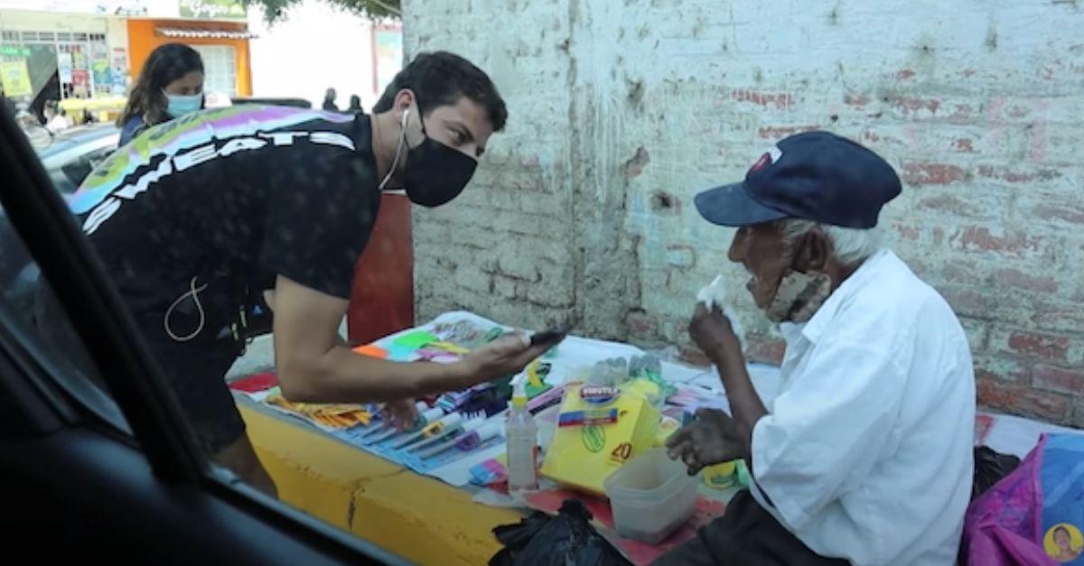 vendedor ambulante 93 anos