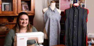 Enfermeira australiana desenvolve babadores da dignidade
