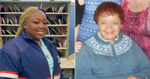 Carteira ajuda em resgate de idosa de 89 anos