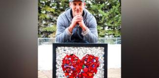 Enfermeiro cria obras de arte com material hospitalar