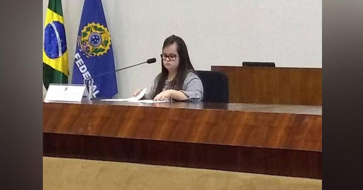 Luana Rolim na Câmara dos Vereadores de Santo Ângelo
