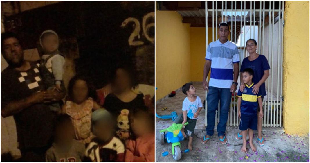 Avós que cuidavam de 16 netos conseguem casa para morar