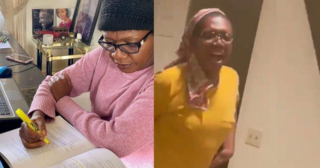[VÍDEO] Após 10 anos de estudos, mãe passa em prova para poder advogar e comemora da melhor forma
