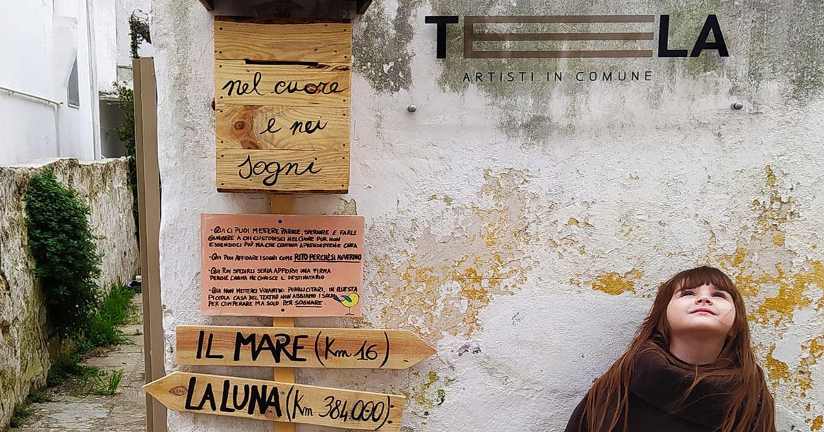 Caixa de correio vira obra de arte na Itália
