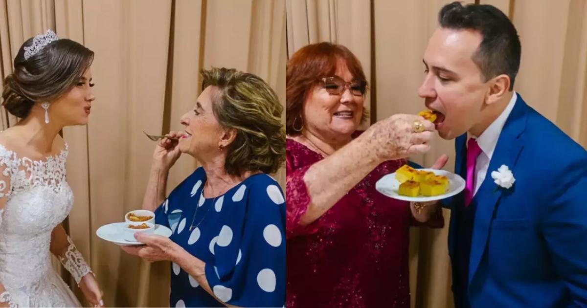 casamento tem nhoque de avó e sopa de mãe como pratos principai