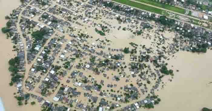 cidade acre alagada enchente