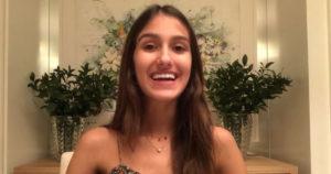 Gabi Ricci em entrevista pela FGV
