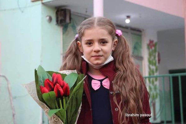 menina siria ganha campeonato matematica 1