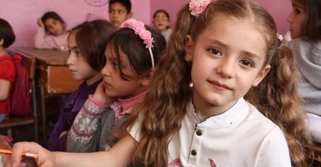 menina siria ganha campeonato matematica