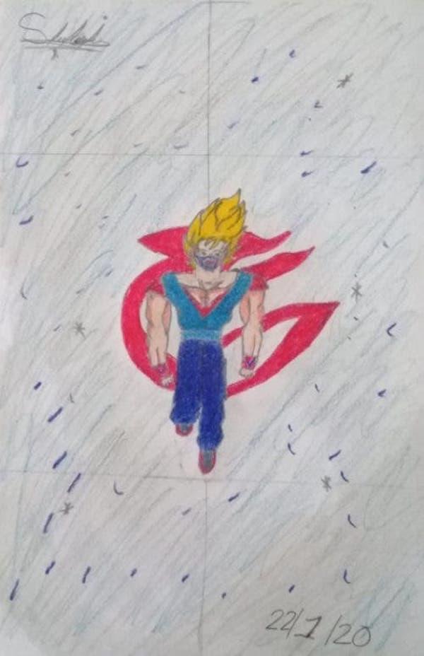 Desenho feito por Samuel, garoto com Asperger