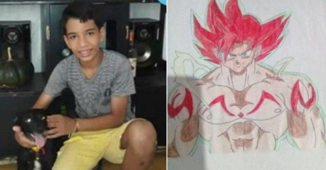 menino asperger vende desenhos capa