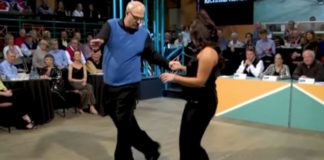 pai e filha dancarinos