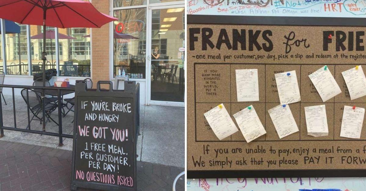 restaurante refeicoes gratis