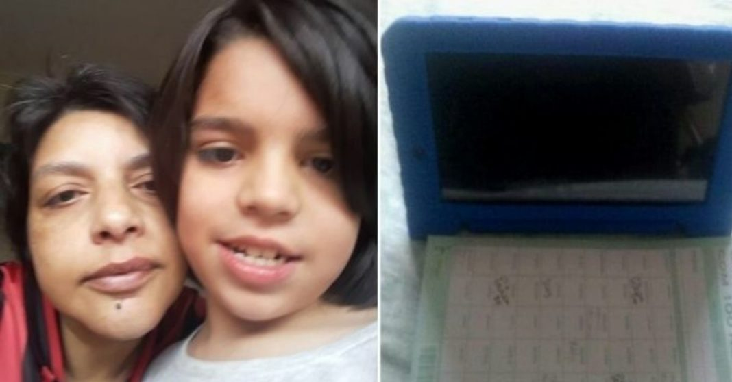 rifa tablet filho autista