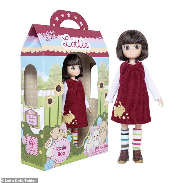 boneca com características síndrome de down