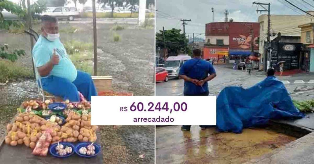 venezuelano vende verduras legumes rua sao paulo
