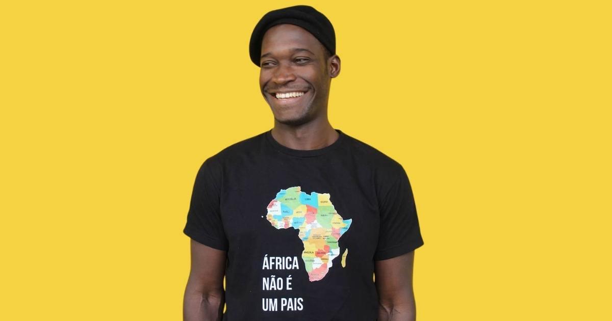 Vensam vestindo 'Visto África'
