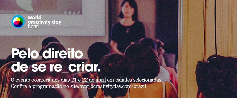 cartaz world creativity day
