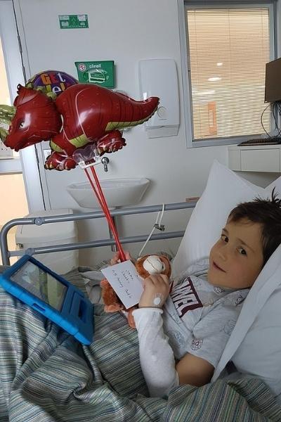 Jake após receber transplante fígado sua mãe