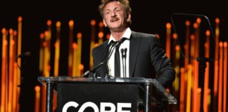 Sean Penn durante evento ONG Core