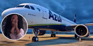 avião azul linhas aéreas brasileiras