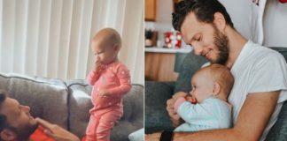 bebe e pai surdo
