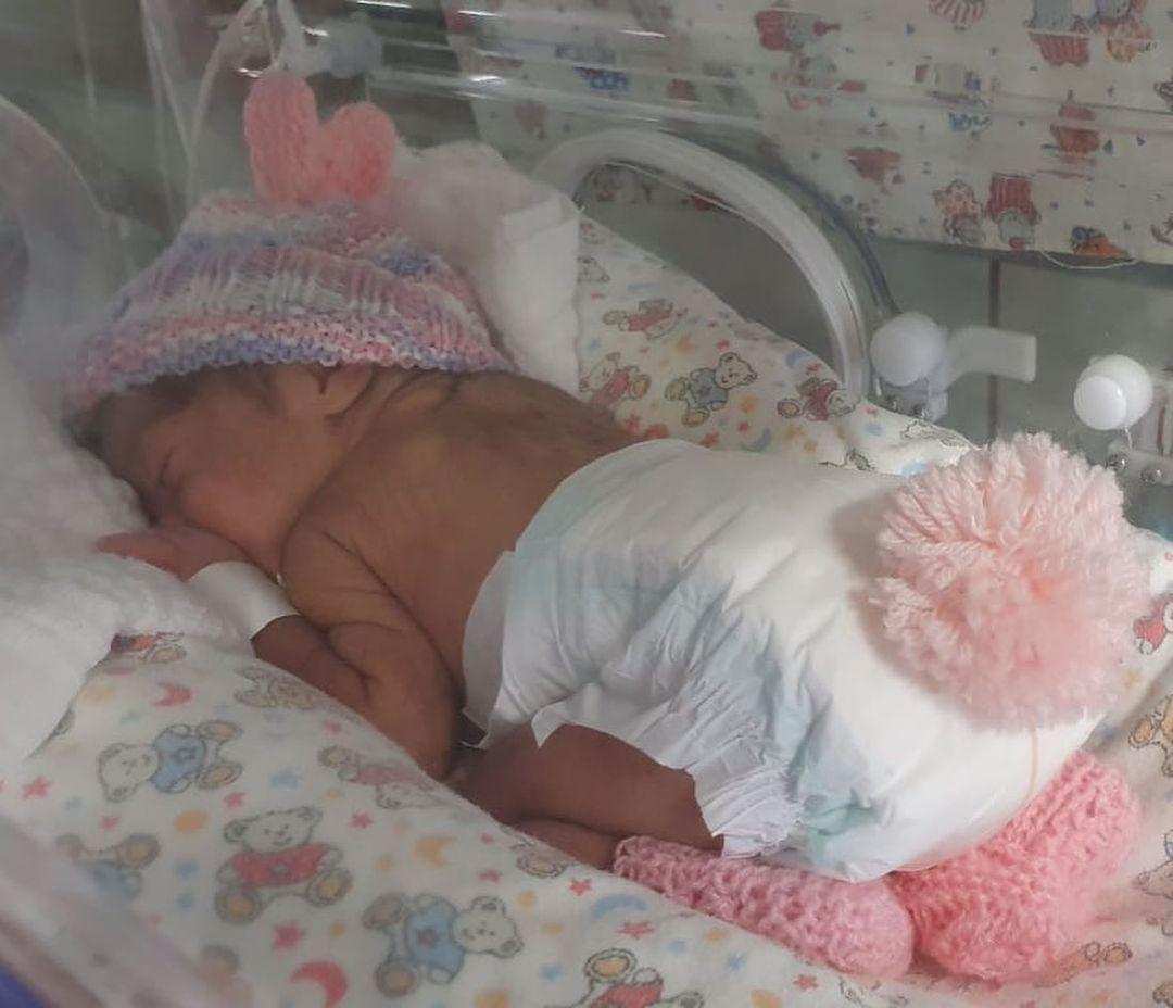 hospital veste bebê internado coelho páscoa