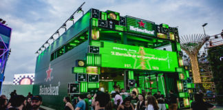 Estande Heineken no Rock in Rio