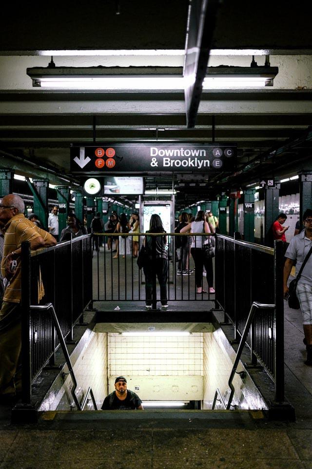 estação metrô nova york