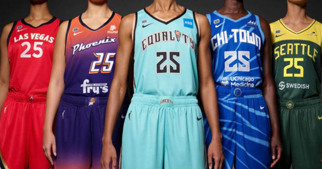 Uniformes da WNBA