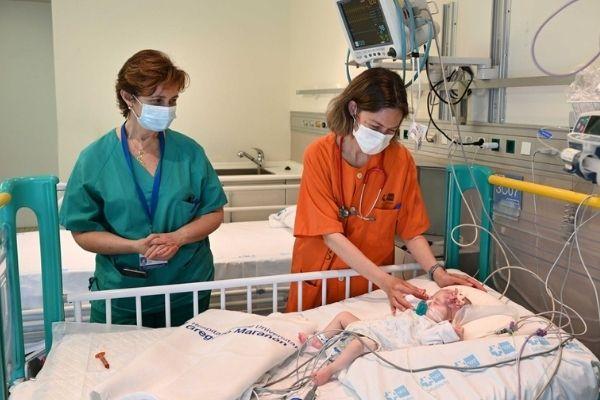 naiara foi o primeiro bebê a receber coração em Assistolia