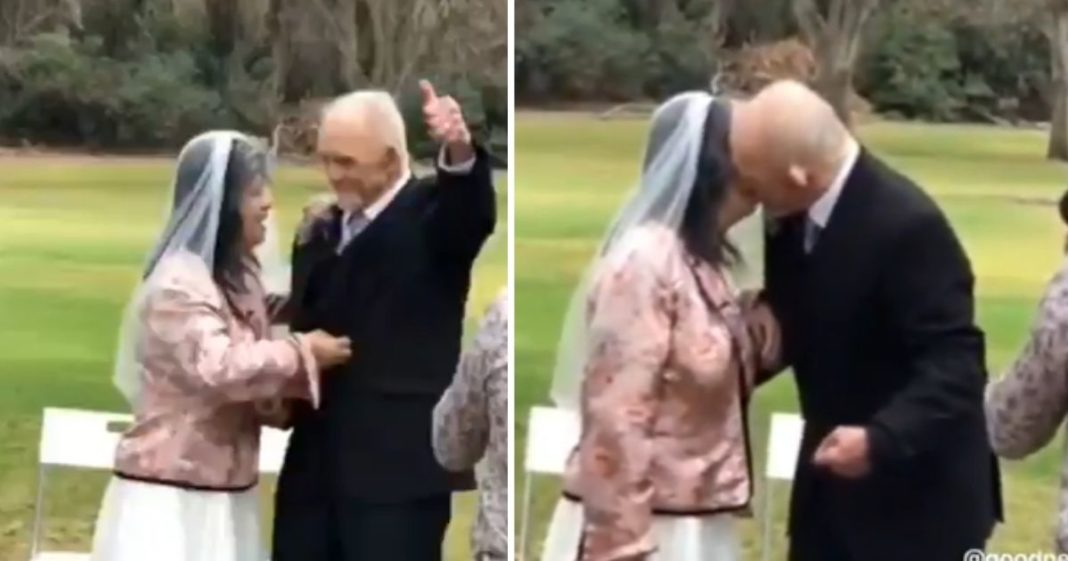 cerimônia fofa casal síndrome de down
